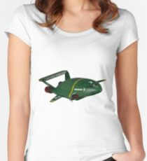 thunderbird 2 Women's Fitted Scoop T-Shirt