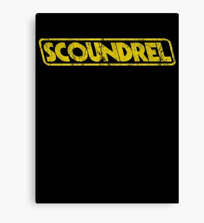 Scoundrel Canvas Print