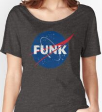 Space Funk - Distressed Women's Relaxed Fit T-Shirt