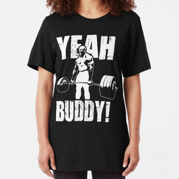 JA BUDDY (Ronnie Coleman) Slim Fit T-Shirt