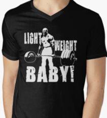 Light Weight Baby! (Ronnie Coleman) Men's V-Neck T-Shirt
