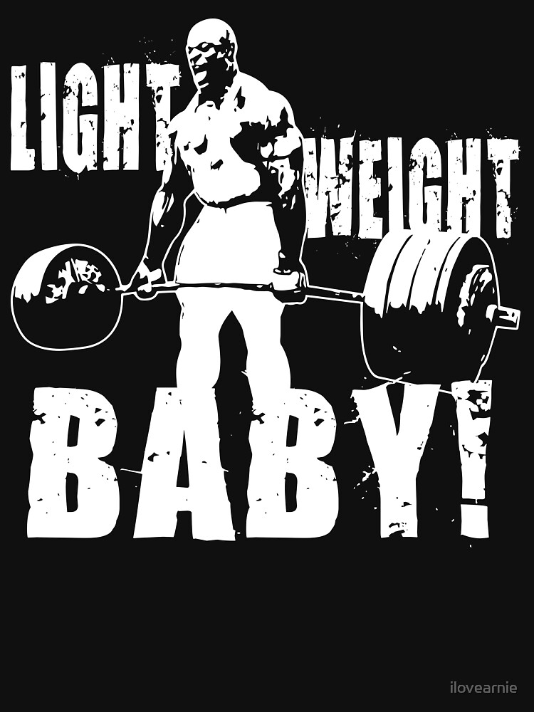 Light Weight Baby! (Ronnie Coleman) by ilovearnie