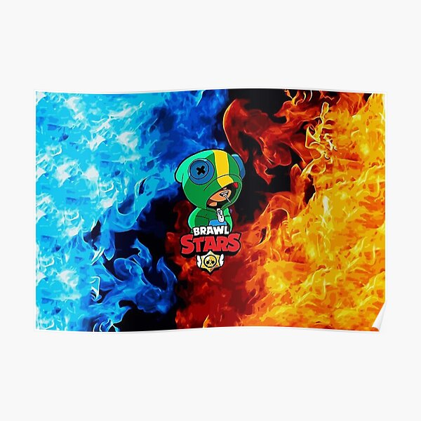 Fire Brawl Stars Poster