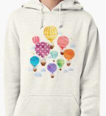 Hot Air Balloon Pullover Hoodie