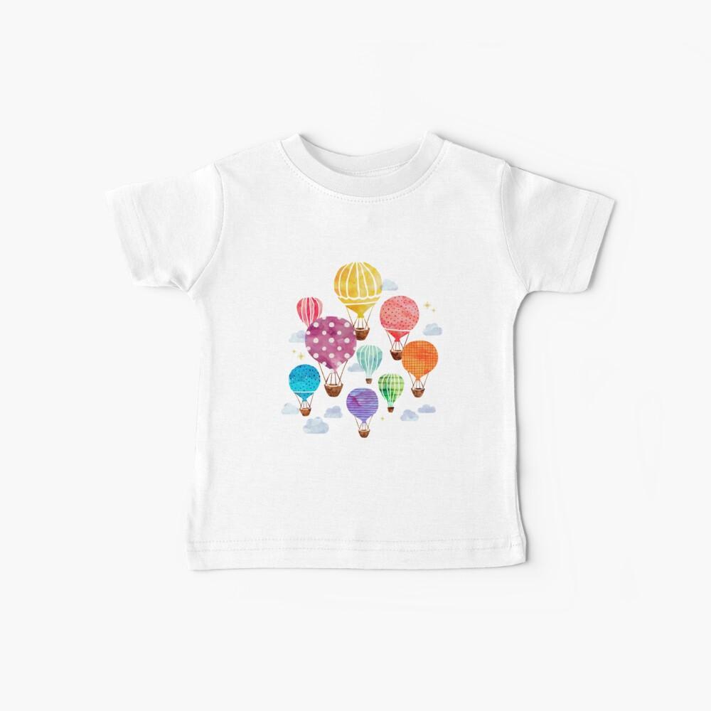 Globo aerostático Camiseta para bebés
