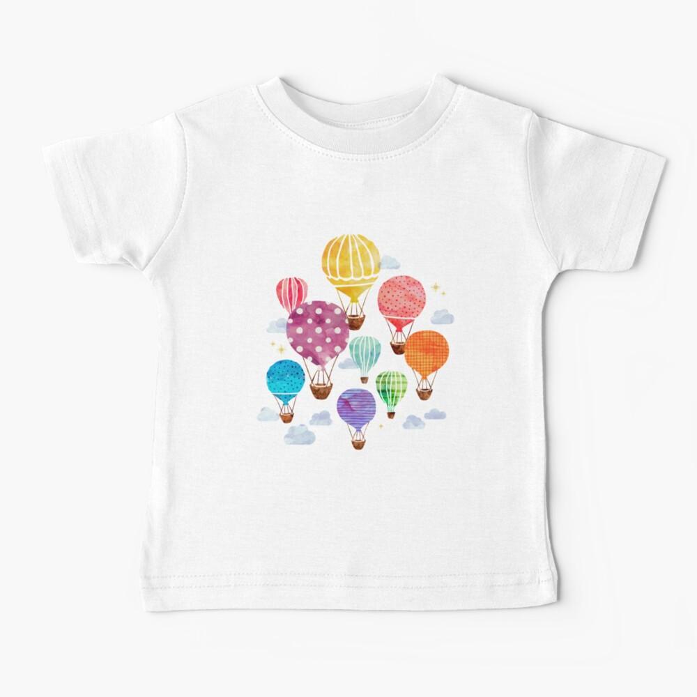 Hot Air Balloon Baby T-Shirt