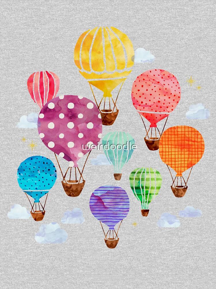 Hot Air Balloon by weirdoodle