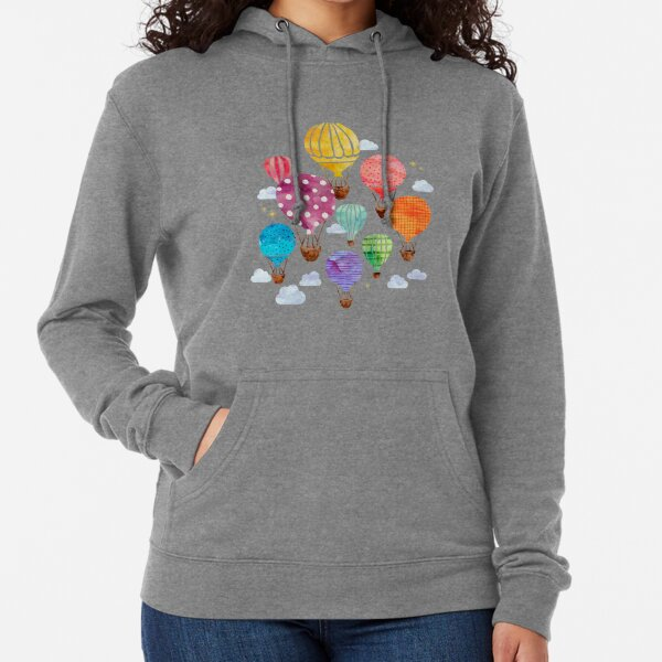 Hot Air Balloon Lightweight Hoodie