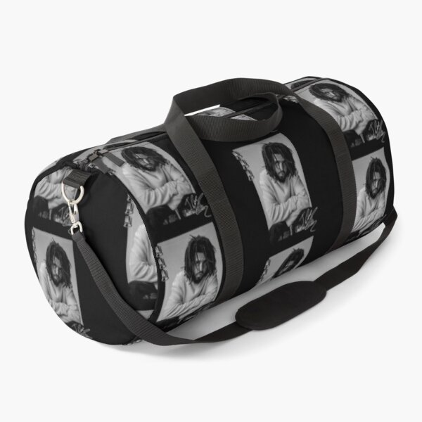 J Cole Fan Art & Merch Duffle Bag