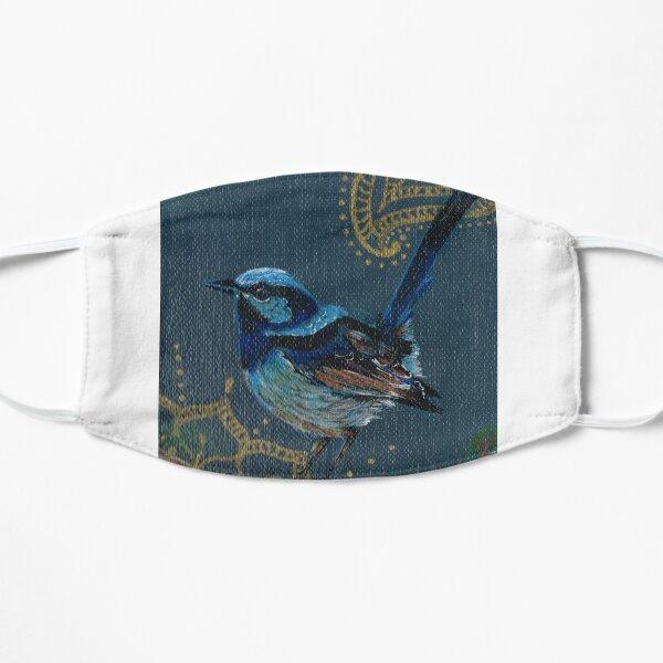 Little birdie blue Flat Mask