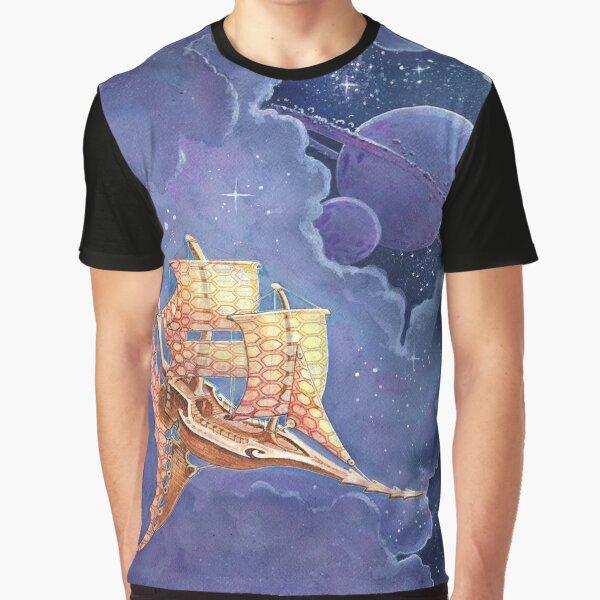 spaceship 2 Graphic T-Shirt