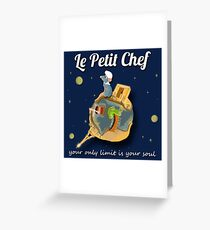 Le Petit Chef Greeting Card