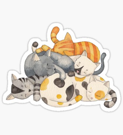 Cat Nap (Siesta Time) Sticker
