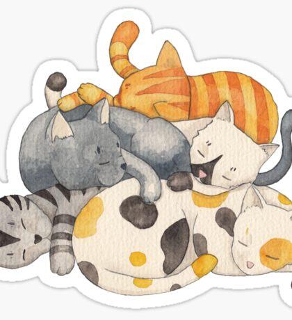 Cat Nap (Siesta Time) Sticker