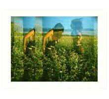 Finding Poppy / By Eva Staber / For SPOT THE DOT Art Print
