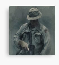 F Co.  51st INF LRPs in Vietnam Canvas Print