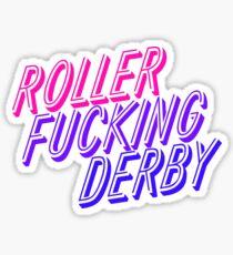 Roller fucking derby Sticker