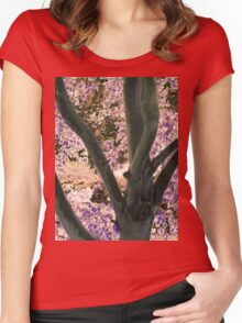 Enchanted Nature Women's Fitted Scoop T-Shirt