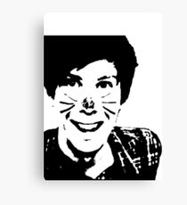 Black and White Phil Canvas Print