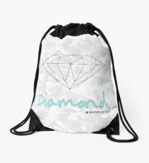 diamond Drawstring Bag