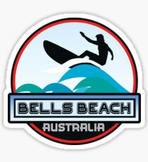 Surf Surfing BELLS BEACH VICTORIA AUSTRALIA Surf Surfer Surfboard Waves Ocean Beach Vacation Stickers Sticker