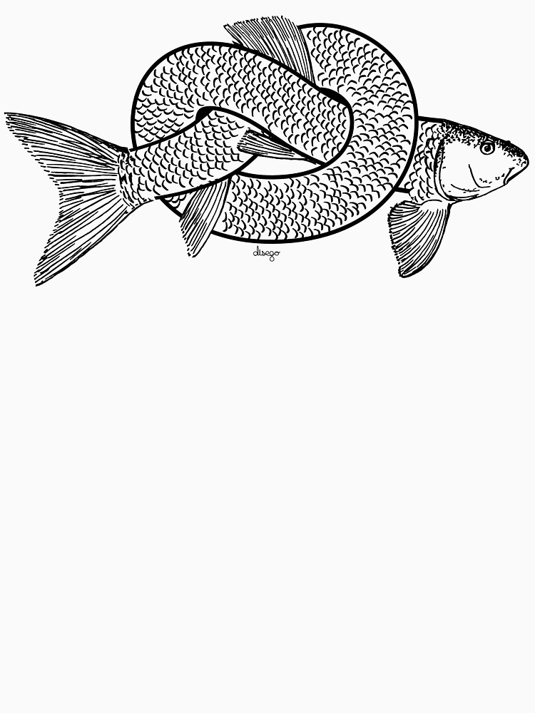 knot fish disego by disego