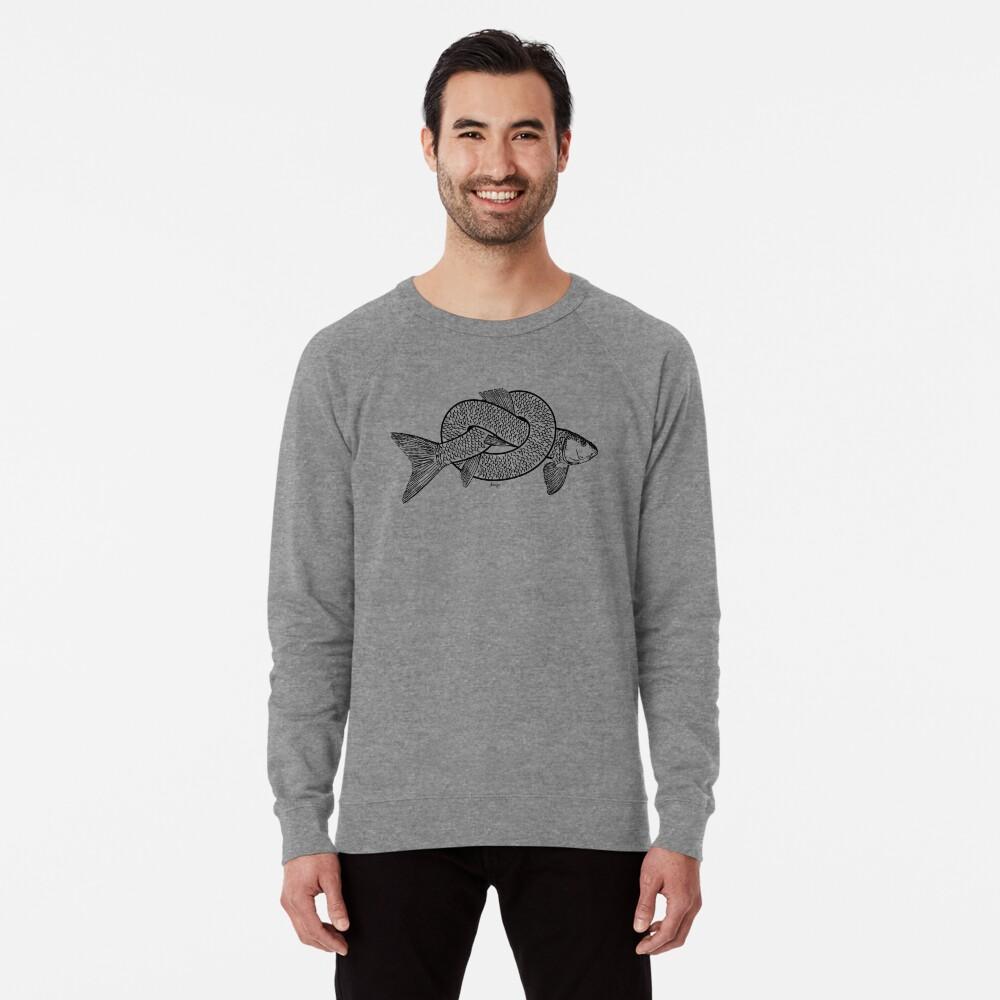 knot fish disego Lightweight Sweatshirt