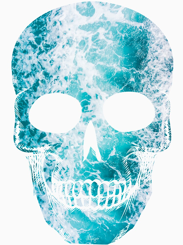 Salty skull design by disego