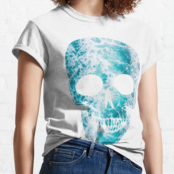 Salty skull design Classic T-Shirt
