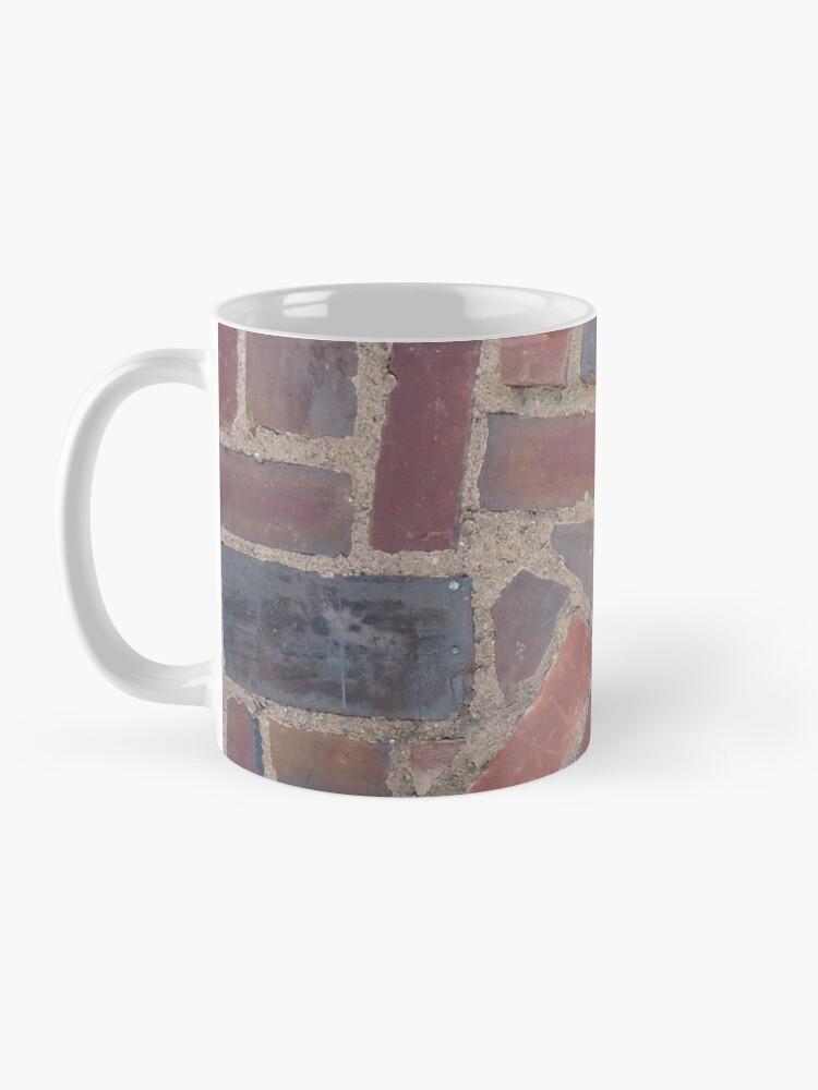 Alternate view of Surfaces, brick, wall, unstandard, pattern Mug