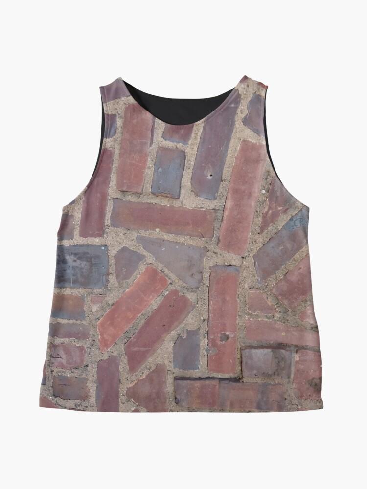 Alternate view of Surfaces, brick, wall, unstandard, pattern Sleeveless Top
