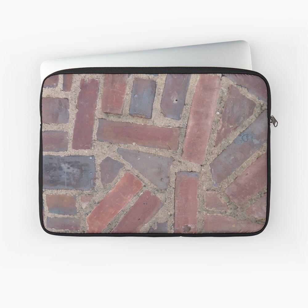 Surfaces, brick, wall, unstandard, pattern Laptop Sleeve