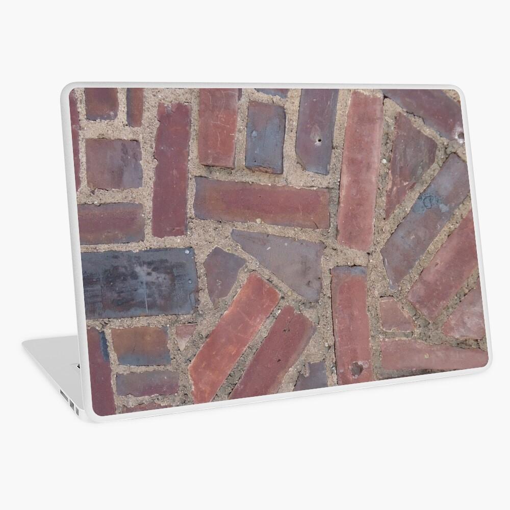 Surfaces, brick, wall, unstandard, pattern Laptop Skin