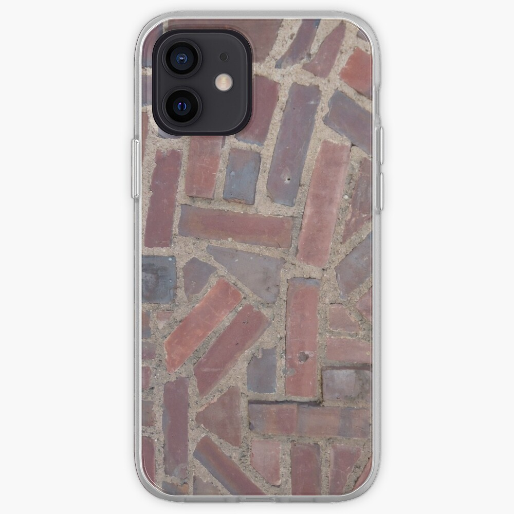 Surfaces, brick, wall, unstandard, pattern iPhone Case & Cover