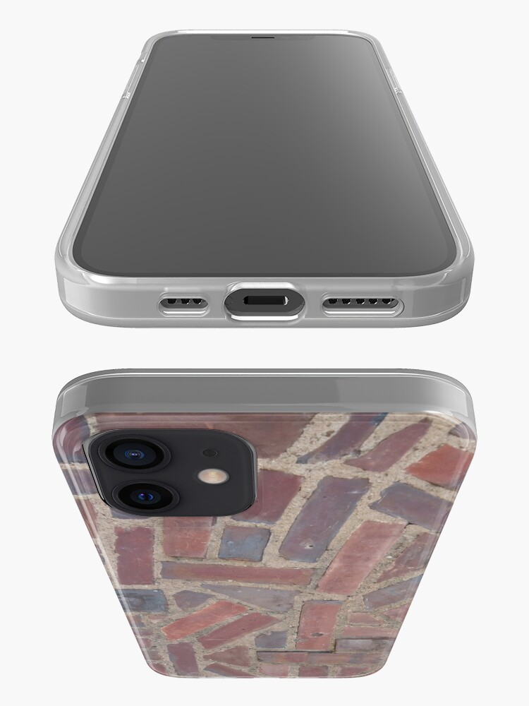 Alternate view of Surfaces, brick, wall, unstandard, pattern iPhone Case & Cover