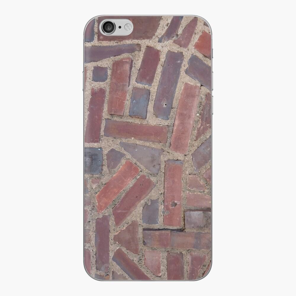 Surfaces, brick, wall, unstandard, pattern iPhone Skin