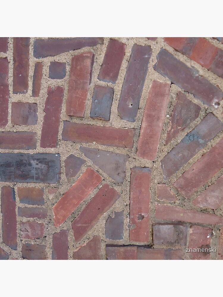 Surfaces, brick, wall, unstandard, pattern by znamenski