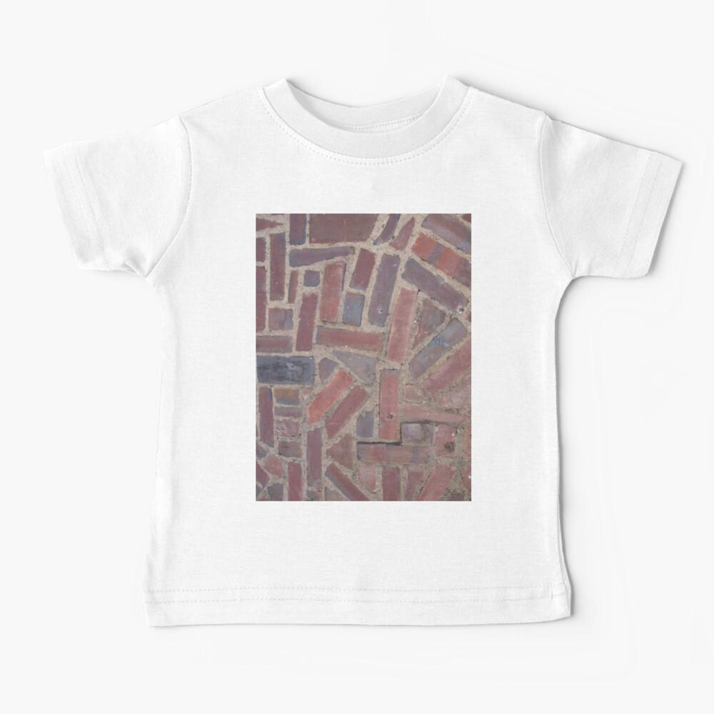 Surfaces, brick, wall, unstandard, pattern Baby T-Shirt