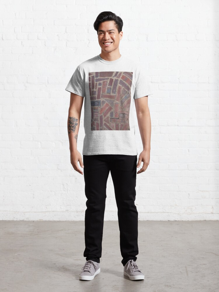 Alternate view of Surfaces, brick, wall, unstandard, pattern Classic T-Shirt