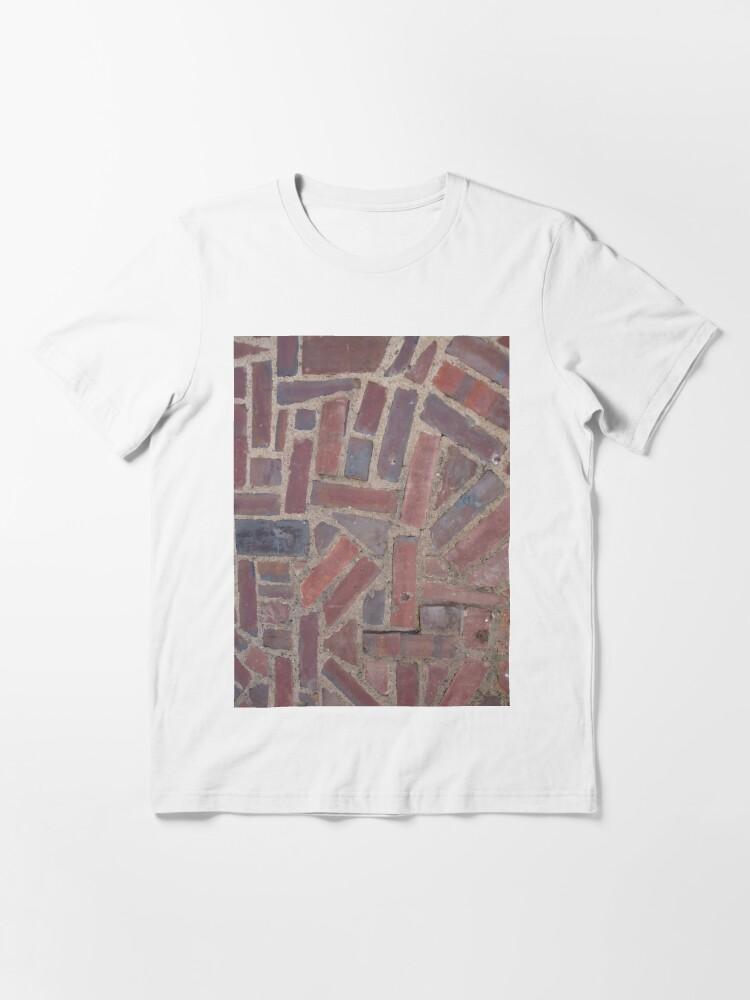 Alternate view of Surfaces, brick, wall, unstandard, pattern Essential T-Shirt