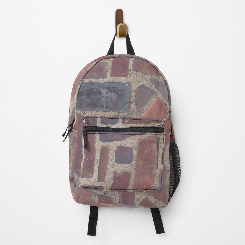 Surfaces, brick, wall, unstandard, pattern Backpack
