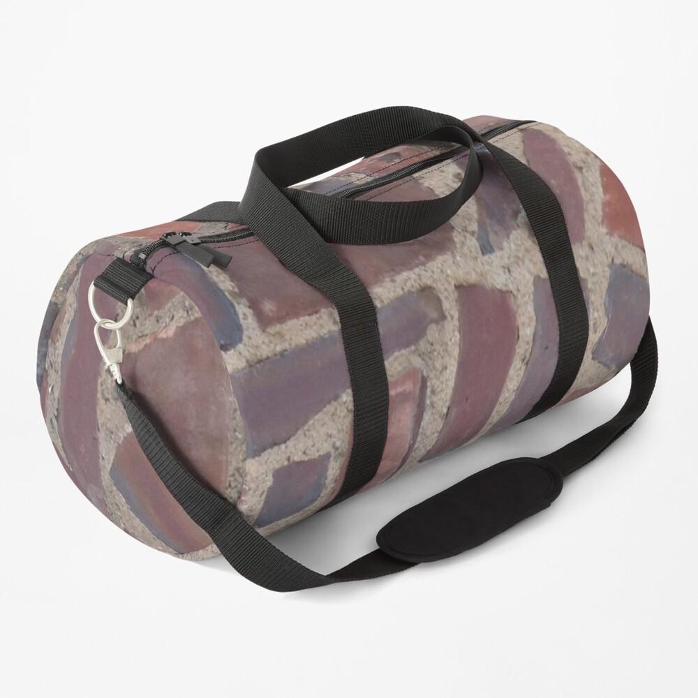 Surfaces, brick, wall, unstandard, pattern Duffle Bag