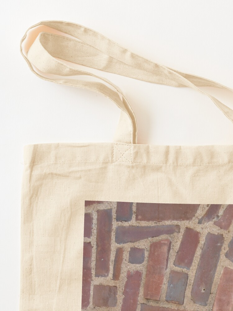 Alternate view of Surfaces, brick, wall, unstandard, pattern Tote Bag