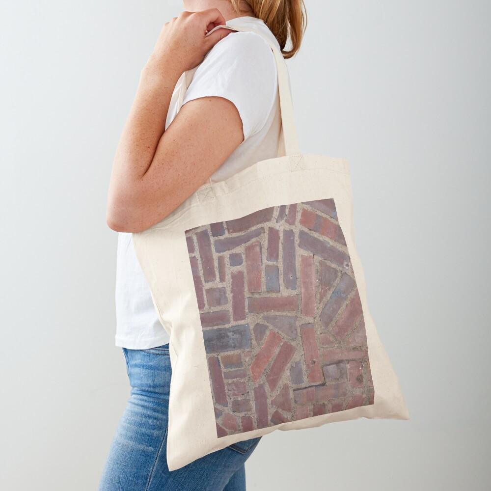 Surfaces, brick, wall, unstandard, pattern Tote Bag