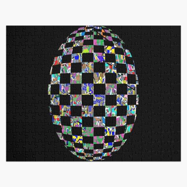 Visual arts - пестрый, motley, variegated, mottled, pied, checkered, patchwork, разноцветный Jigsaw Puzzle