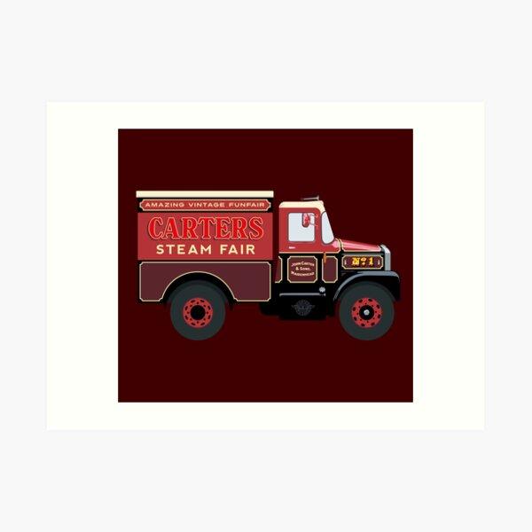 Carters Steam Fair Scammell Art Print