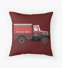 Carters Steam Fair Scammell Throw Pillow