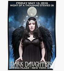 Night of 1000 Stevies 26: Dark Daughters Poster  Poster
