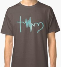 He is the beat of my heart Classic T-Shirt