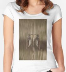 Knocking Yourself? Women's Fitted Scoop T-Shirt